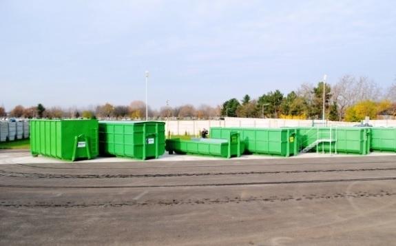 Punct de colectare deșeuri
